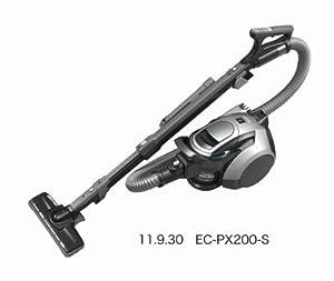 SHARP プラズマクラスター搭載サイクロン掃除機 シルバー系 EC-PX200-S EC-PX200-S