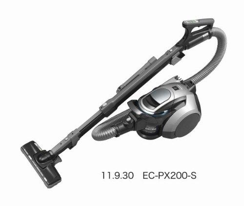 SHARP プラズマクラスター搭載サイクロン掃除機 シルバー系 EC-PX200-S