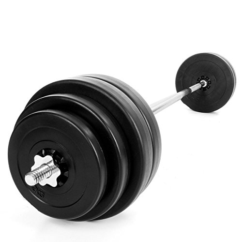 Kinetic Sports LDBS60 Barbell Set 60 kg (4 x 10 kg, 2...
