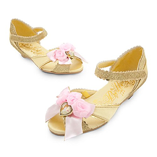 Disney Store Belle Costume Shoes ~ 11/12