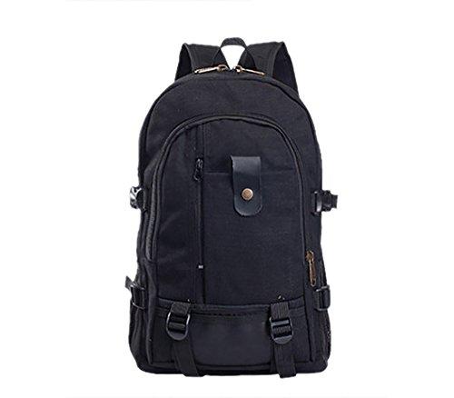 Rckentasche-Unisex-Stadtwanderung-TascheWanderungstasche-daypack-25-L-Schwarz