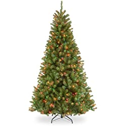 National Tree Company North Valley Spruce Tree NRV7-301-75, 7.5-Feet