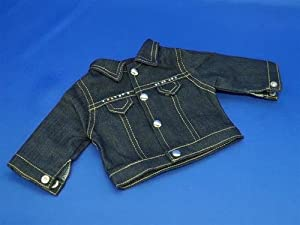 "AllYourDollNeeds Blue Jean Jacket with Rhinstones Fall Winter Jacket Coat Outfit Fits American Girl 18"" Doll Girl of Today Just Like Me, Kit, Mol at Sears.com"