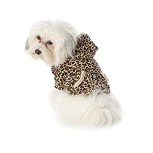 leopard print dog jumper sweater - cheetah animal pattern