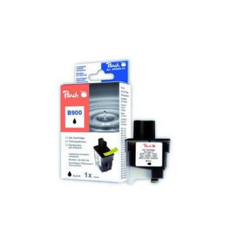 Peach B900 bk Tintenpatrone kompatibel zu Brother LC-900bk, schwarz