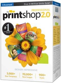 THE PRINT SHOP 2.0 PROFESSIONAL SB 5PAK (SOFTWARE