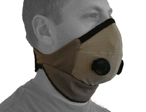 ATV Tek Pro Series Rider Dust Mask (Tan/Black, Universal)
