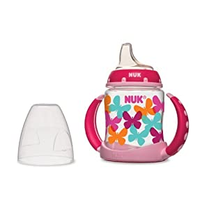 NUK Fashion Learner Cup, Girl, 5 Ounce