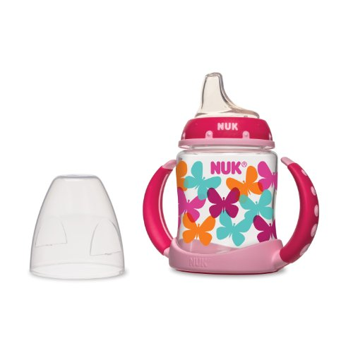 Nuk Fashion Learner Cup, Girl, 5 Ounce