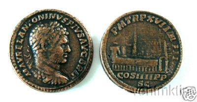 (DD S 78) Sestertius of Caracalla COPY