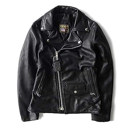 VANSON(バンソン) [バンソン] (別注) ダブルライダースジャケット 黒 ブラック アメリカ製 (メンズ)