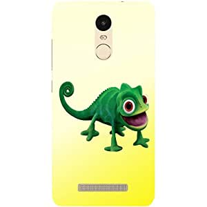 Casotec Chameleon Toy Design Hard Back Case Cover for Xiaomi Redmi Note 3