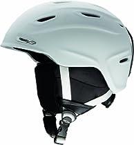 Smith Optics Aspect Adult Ski Snowmobile Helmet , Matte White , Large