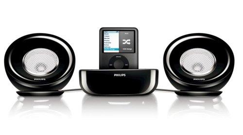 Philips SBD 6000 Lautsprecher-System für Apple iPod incl. spezifischem 30 PIN Anschluß