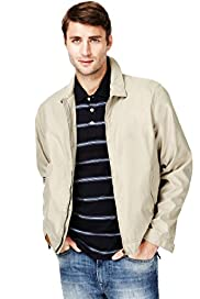 Classic Collar Harrington Jacket with Stormwear™