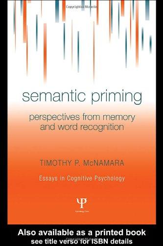 Semantic priming essays