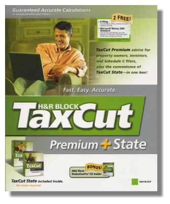2005 TaxCut Premium Federal + State H&R Block Tax Cut