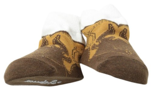 Mud Pie Baby-Boys Newborn Cowboy Boot Sock
