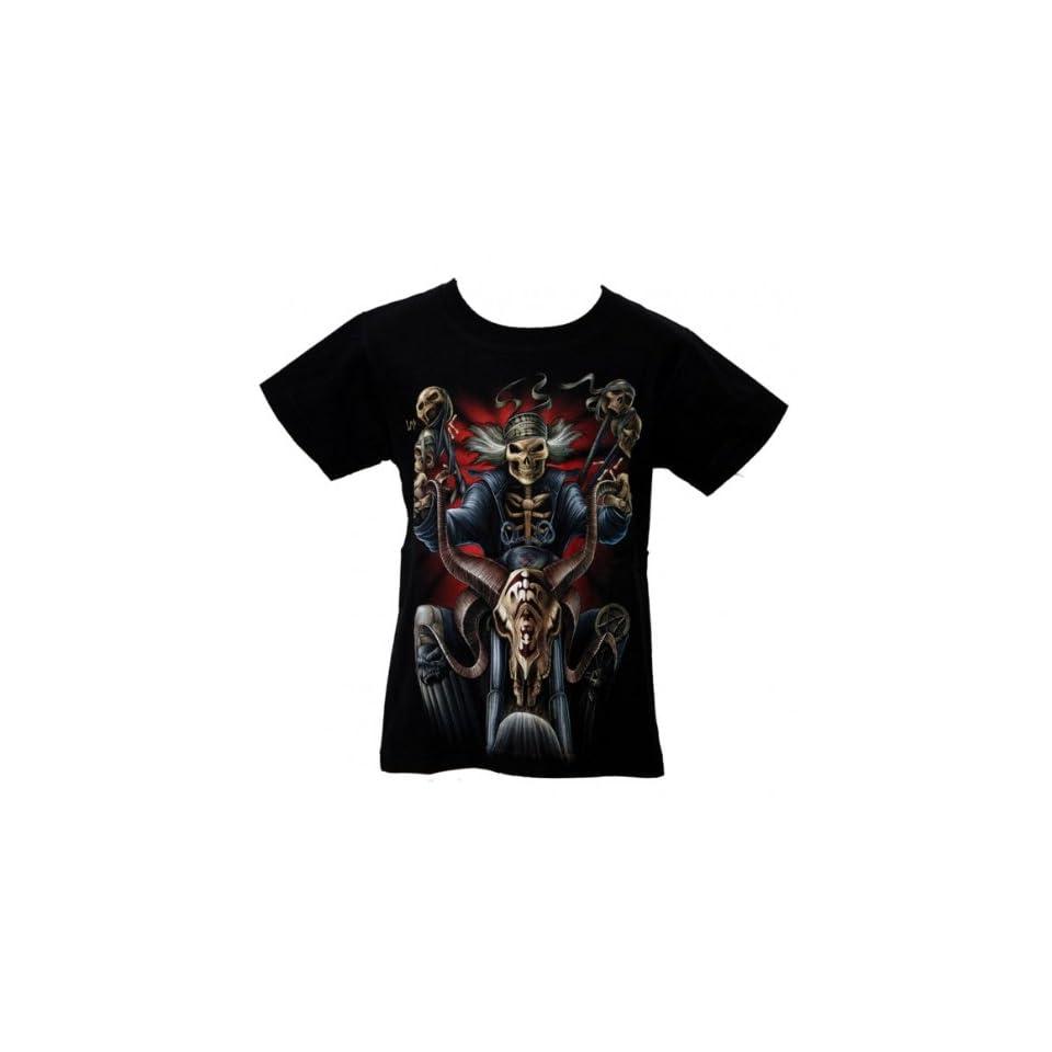 Shirt  Skull Biker Skelett Easy Rider Kids  Bekleidung
