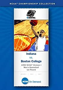 1996 NCAA(r) Division I Men's Basketball 1st Round - Indiana vs. Boston College