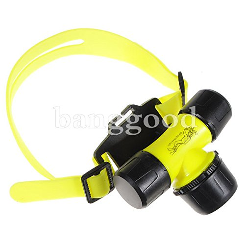 New Cree Q5 300 Lumens 30M Waterproof Diving Led Headlamp Headlight