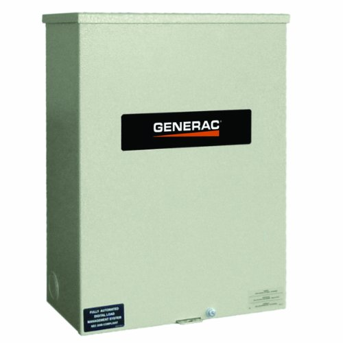 Generac Rtsr200A3 200-Amp 120-240V Single Phase Nexus Smart Transfer Switch With Service Disconnect, Rated Nema 3R Cul