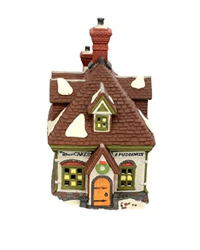 Uptown Down Heritage Village Collection WM. Wheat Cakes & Puddings Shop, Multi