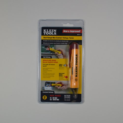 Klein Tools Ncvt-2 Dual Range Non-Contact Voltage Tester front-360541