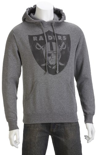 Junk Food Men's Raiders Hoody T-Shirt Gunmetal NF124-6045 Small