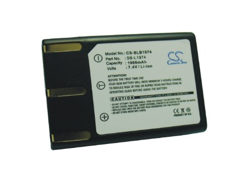 Battery2Go Rechargeable Battery 1900Mah For Samsung Pro 815Se, Sb-L1974, Pro 815, Slb-1974