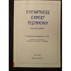 Eyewitness Testimony Essay