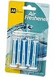 AA Car Essentials 614475 Ocean Air Freshener Clip-Ons, Set of 5