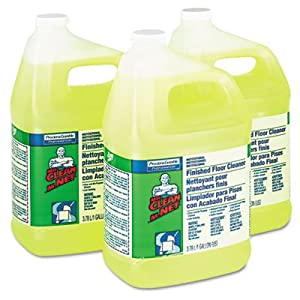 Finished Floor Cleaner, 1gal Bottle, 3/Carton, Sold as 1 Carton