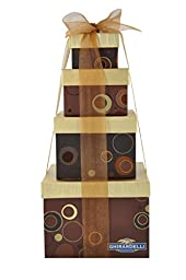 Ghirardelli New Classic Elegance Chocolate Tower, 2 Pound
