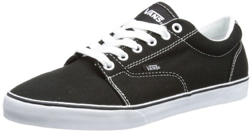 Vans Mens Kress Black/White Low-Top VOYG187 5.5 UK, 38.5 EU, 8 US