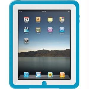 OtterBox Defender Series for Apple iPad - White on Blue