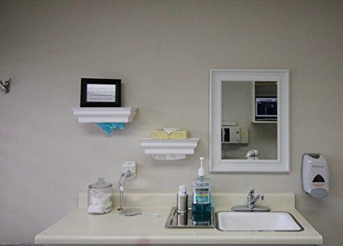 Wood multifold paper towel dispenser interlocking single for Home bathroom towel dispenser