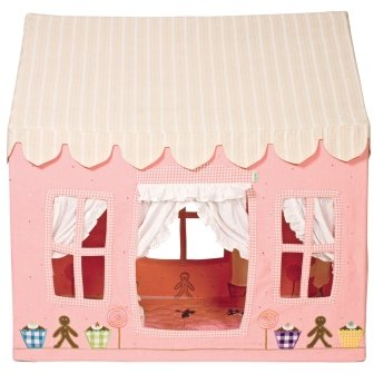 Win Green - Pfefferkuchen - Klein - Tent - Small Gingerbread Cottage
