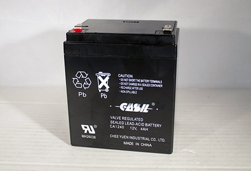 casil genuine ca1240 12v 4ah sla alarm battery johnny 39 s. Black Bedroom Furniture Sets. Home Design Ideas