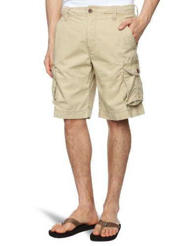 Timberland Canvas Cargo Men's Shorts Sand W30 IN