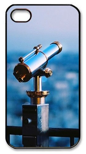 Astronomical Telescope Pc Case Cover For Iphone 4 And Iphone 4S ¨Cblack