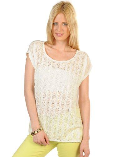 Second Female Rosita T-Shirt M, weiß/geblümt