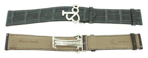 jacob-co-echtes-echt-alligator-dunkelgrau-band-22-mm-watch-strap-fur-47
