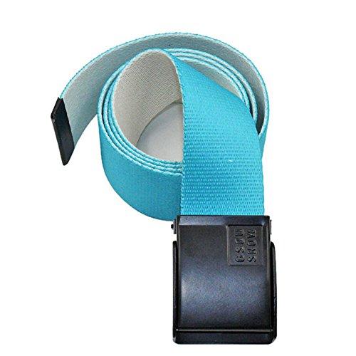 APTRO Black Buckle Bright Colorful Printed Canvas Snowboarding Belt #05 112cm