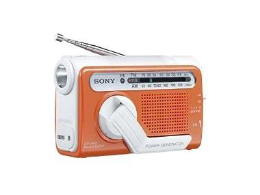 SONY FM/AMポータブルラジオ B03 オレンジ ICF-B03/D