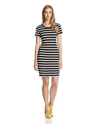 Velvet by Graham & Spencer Women's Slub Stripe Knit Dress
