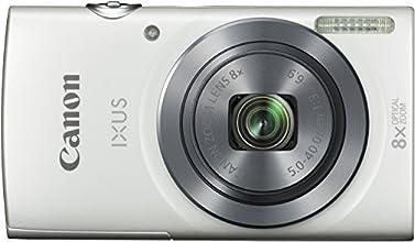 """Canon Ixus 160 Appareil photo numérique compact 20 Mpix Écran LCD 2,7"""" Zoom optique 8X Blanc"""