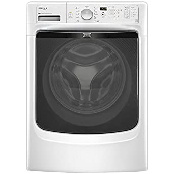 Amazon Com Maytag Mhw4200bw Maxima X 4 1 Cu Ft White Stackable With Steam Cycle Front Load Washer Energy Star Appliances