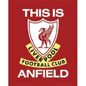Official Liverpool Fc This Is Anfield Large Metal Sign by THE ORIGINAL METAL SIGN COMPANY LTD