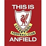 OFFICIAL LIVERPOOL F.C. THIS IS ANFIELD LARGE METAL SIGN